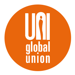 global union logo white